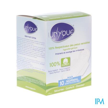 Unyque Serviettes Hygiéniques Normal 10 pièces