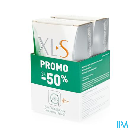 XLS Kuur Platte Buik Promo Duo 2e -50% 2 x 30 tabletten