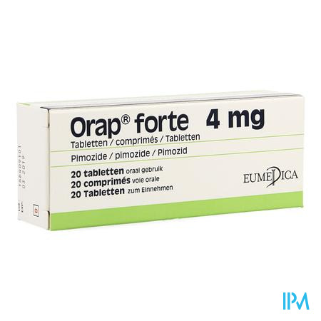 Orap Forte Comp 20 X 4mg