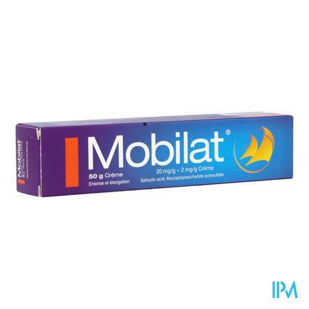 MOBILAT 50 G CRÈME (médicament)