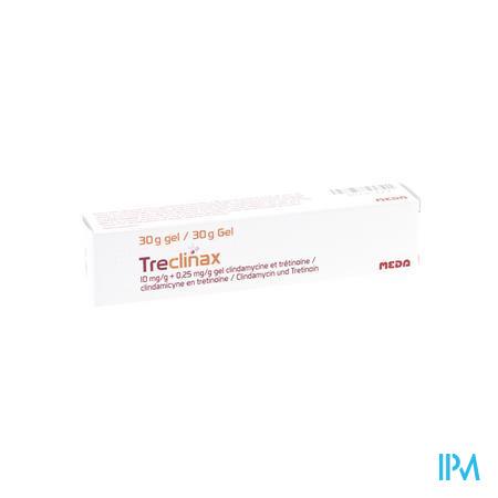 Treclinax 10mg/g + 0,25mg/g Gel Tube 30g
