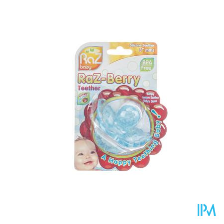 Raz Baby Bijtring Razberry Baby Blue 1 stuk