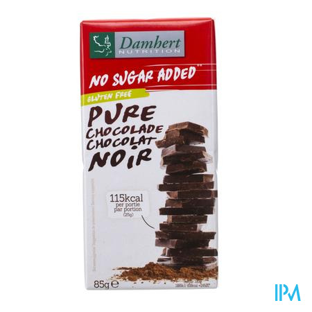 Damhert Chocolade Fondant Zonder Suiker 85 g
