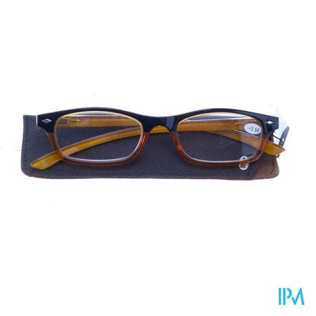 Pharmaglasses Leesbril Diop.+3.50 Yellow
