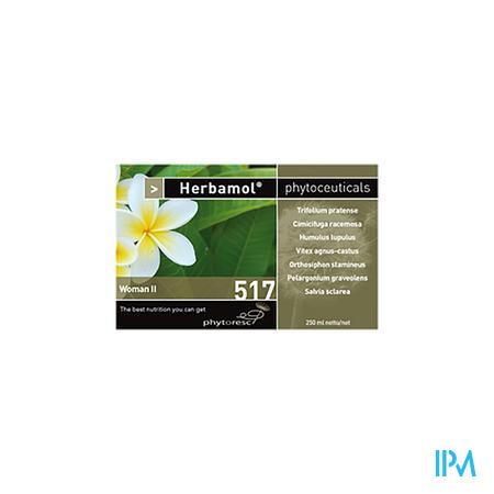 Herbamol 517 Woman ii 250 ml