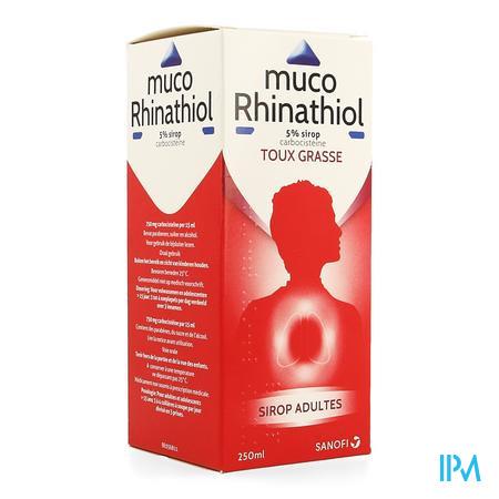 Muco Rhinathiol 5% Sirop Ad 250 ml