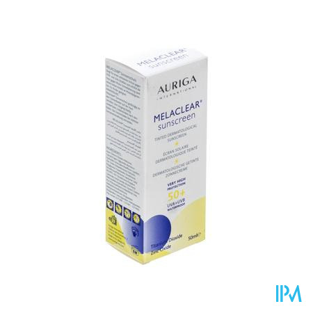 Melaclear Ecran Solaire Dermato IP50 50 ml