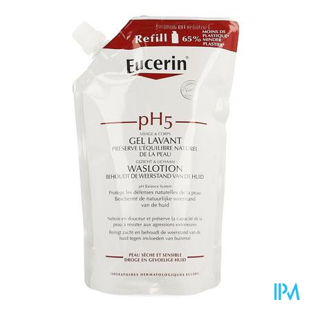 Eucerin Ph5 Waslotion Navulling 400ml
