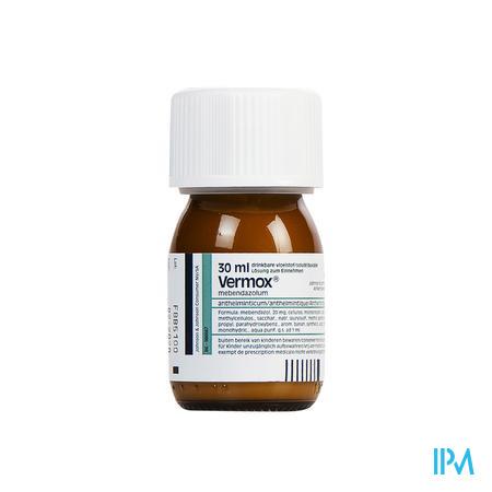 Vermox Suspensie 30 ml 2%