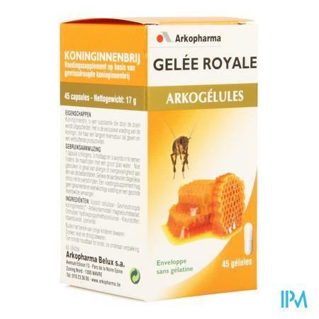 Arkogélules Gelée Royale Végetales 45 capsules