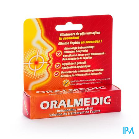 Farmawebshop - ORALMEDIC TEGEN AFTEN APPLICATOR 3