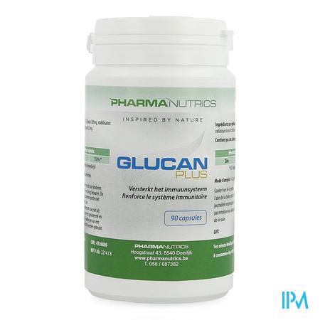 Glucan Plus Actief Weerst. V-caps 90 Pharmanutrics