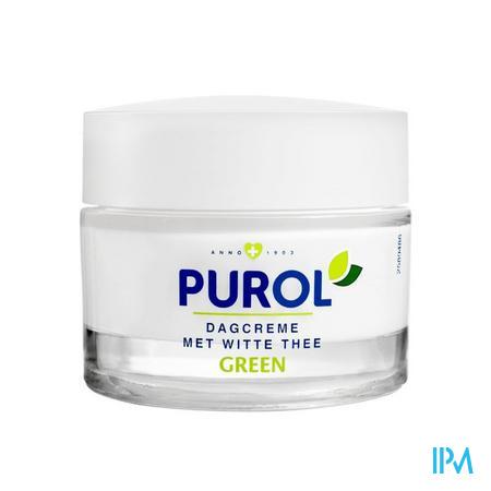 Purol Green Dagcreme Witte Thee 50ml