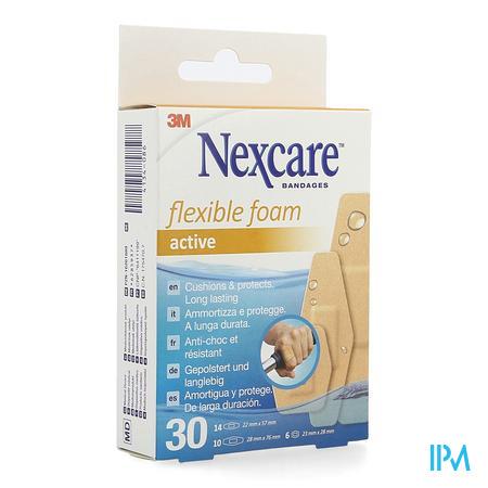 Nexcare 3m Flexible Foam Active Ha Pleist.gesn. 30