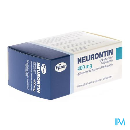 Neurontin Caps 90 X 400mg