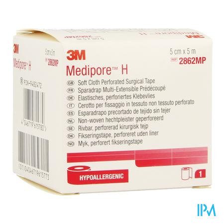 Medipore H 3m Perforated 5cmx5m Rol 1 2862p-s