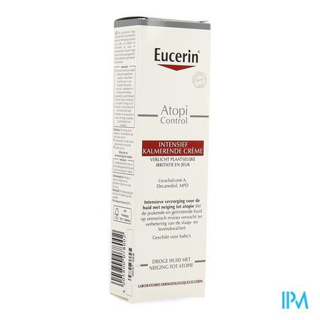 Afbeelding Eucerin atopicontrol creme intensief kalmerend 40ml.