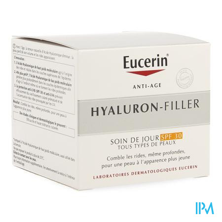 Eucerin Hyaluron Filler Dagcreme Ip30 50ml