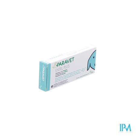 Paravet Exitel Plus Hond (1 tablet per gewicht van 10kg) 2 Tabletten