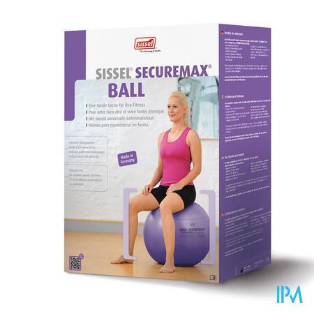Sissel Bal Securemax Zitbal Lila 65cm 1 stuk