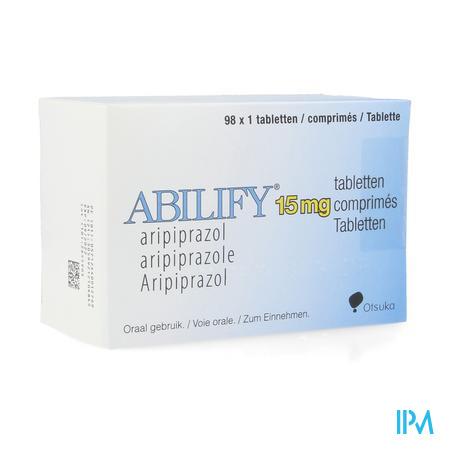 Abilify 15mg Abacus Comp 98 X 15mg