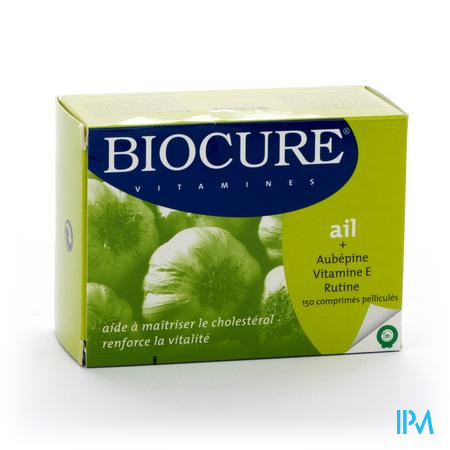 Biocure Vitamines Knoflook 150 tabletten