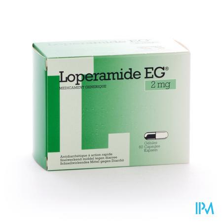 Farmawebshop - LOPERAMIDE EG CAPS 60X2MG