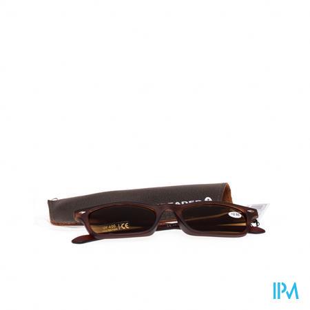 Sunreader Zonneleesbril +2.00 Brown