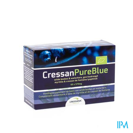 Cressan Pure Bleu V-caps 60x500mg