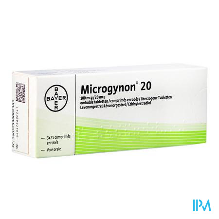 Microgynon 20 Drag 3 X 21