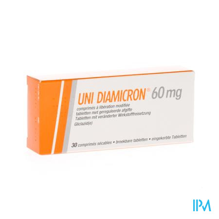 Uni Diamicron Comp 30 X 60mg