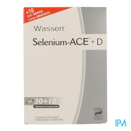 Selenium-ACE Promo 30+10 Gratuit 40 comprimés