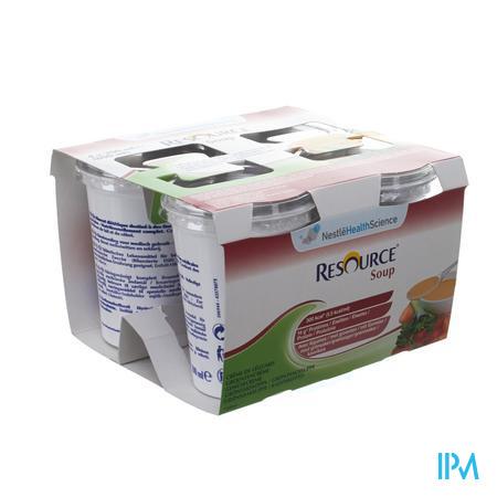 Resource Soup Legumes 4x200 ml 12112467  -  Nestle Belgilux