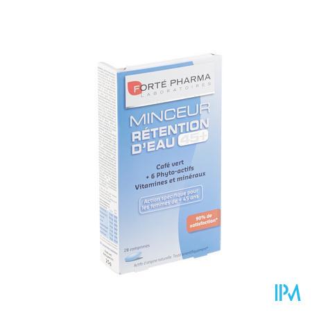 Forté Pharma Turboslim Retention Eau 45+ 28 comprimés