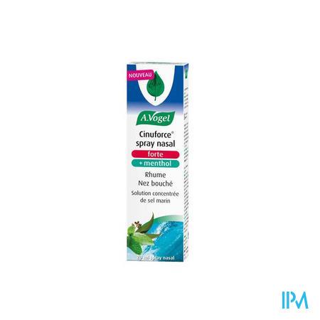 Vogel Cinuforce Spray Nasal Forte + Menthol 20 ml  -  Biohorma