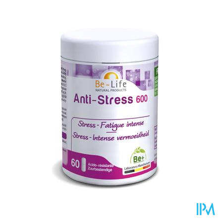 Anti Stress 600 Be Life Pot Caps 60