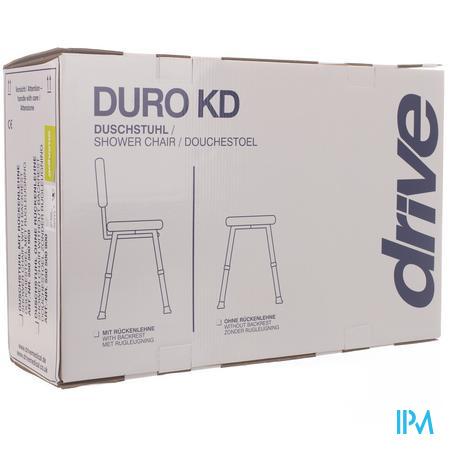 Douchestoel Met Gevormde Zitting Duro, Aluminium Taboeret Ad149289