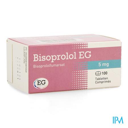 Bisoprolol Eg Comp 100 X 5mg