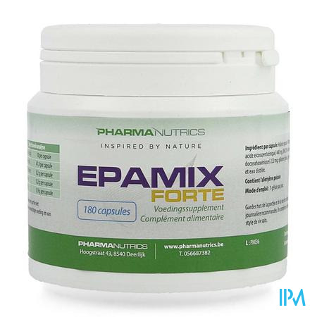Epamix Forte Caps 180 Pharmanutrics