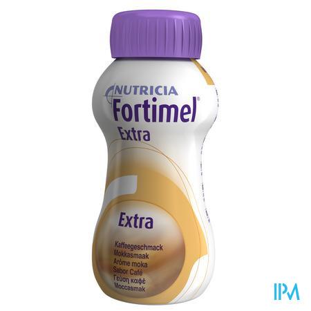 Afbeelding Fortimel Extra Koffie 200ml 4 stuks.