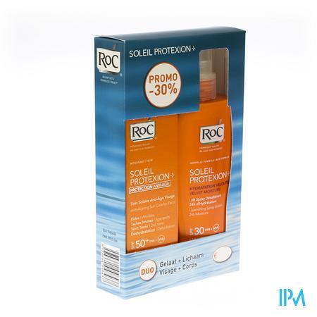 Roc Soleil Protexion Spf 30 + Gezicht Spf 50 200+50 ml