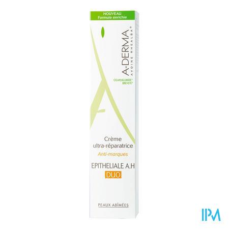 Afbeelding Aderma Epitheliale A.H Duo Ultraherstellende Crème tegen Restlittekens voor Beschadigde Huid Tube 40 ml.