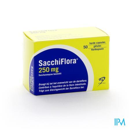 Sacchiflora 250 mg Capsule Dur 50 Blister