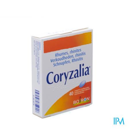BOIRON CORYZALIA 40 COMP (médicament homéopatique)