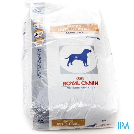 Royal Canin Hond Gastro Intestinal Low Fat 12 kg