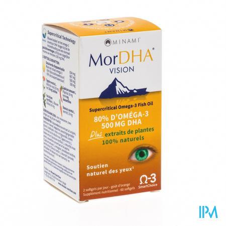 Mor DHA Vision Pot Softgels 60 caps