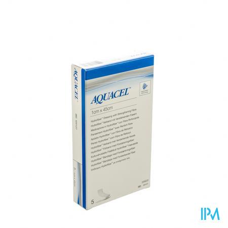 Aquacel Hydrofiber 1cm x 45cm 5 stuks