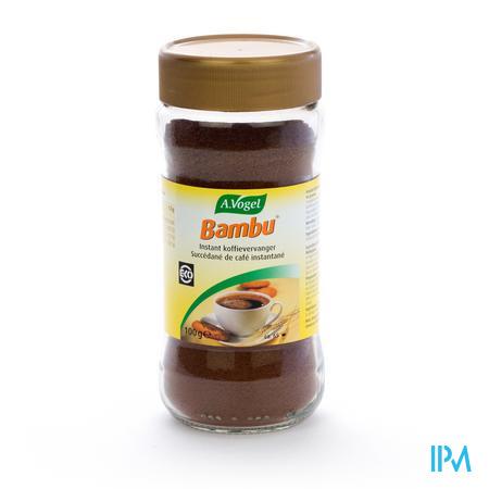 Afbeelding A. Vogel Bambu Biologische Cafeïnevrije Koffievervanger 100 g.