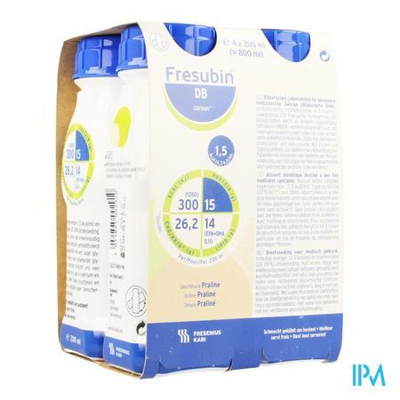 Fresubin Db Drink Praline Easybot.4x200 ml  -  Fresenius