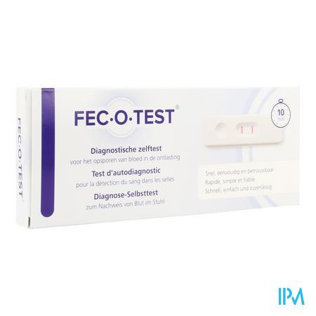 Afbeelding Fec O Test Diagnostische Zelftest voor Opsporing van Bloed in Ontlasting.